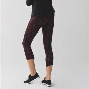 "Lululemon ""Exquisite Crop Workout Leggings"